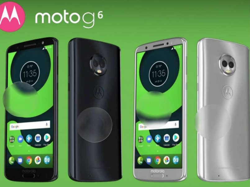 Moto G6 specifications revealed on Amazon listing ahead of April 19 launch