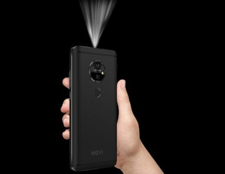 CES 2018: Movi phone with built-in projector launched