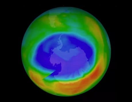 Chemical ban helped closing up of ozone layer hole: NASA
