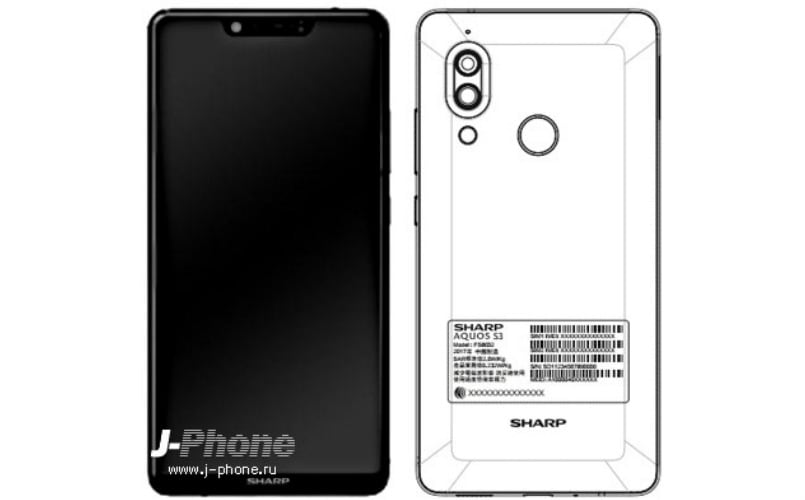 Sharp Aquos S3 with iPhone X-like display to launch on January 16: Specifications, features