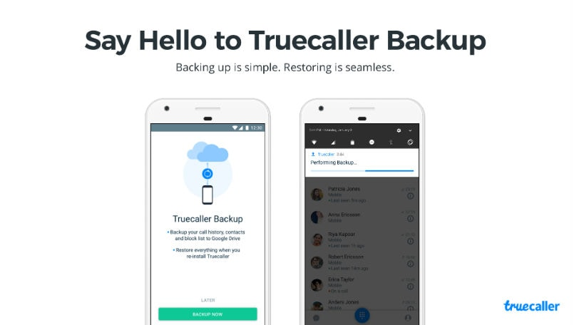 Truecaller Backup Android