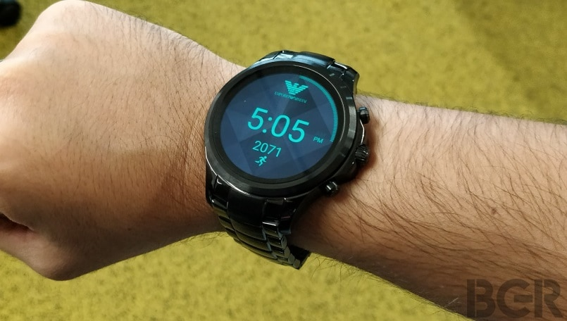 Emporio Armani Connected Smartwatch Review: Typical smartwatch, but with designer feels