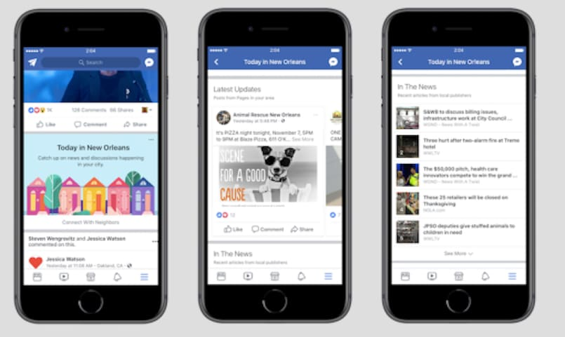 Facebook testing 'Today In' feed news and events update: Report