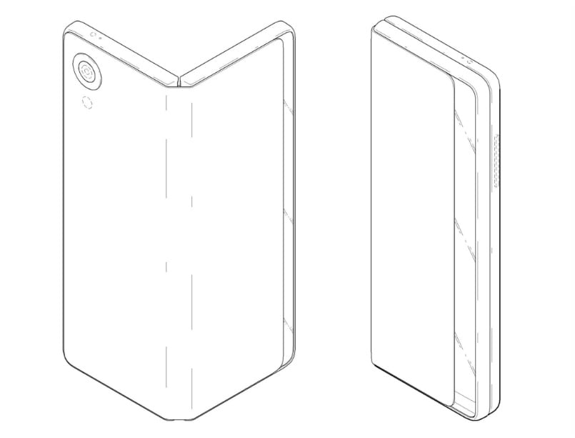 LG Patent Shows Folding Device That Can Morph From Smartphone To Tablet