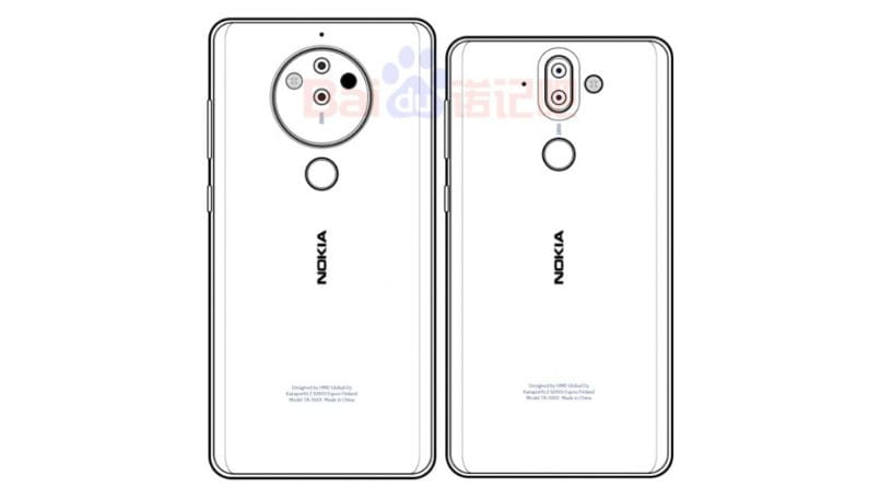 MWC 2018: Nokia 10 leaked sketch details how the penta-camera setup might work