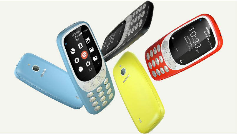 Nokia 3310 4G variant with Android-based YunOS launched in China