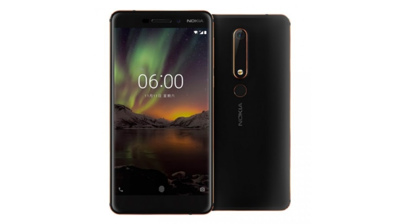 Nokia 6 (2018) tested in GeekBench