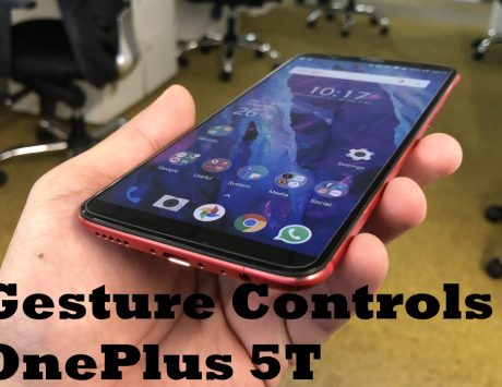 How to use Apple iPhone X-like gesture controls on the OnePlus 5T