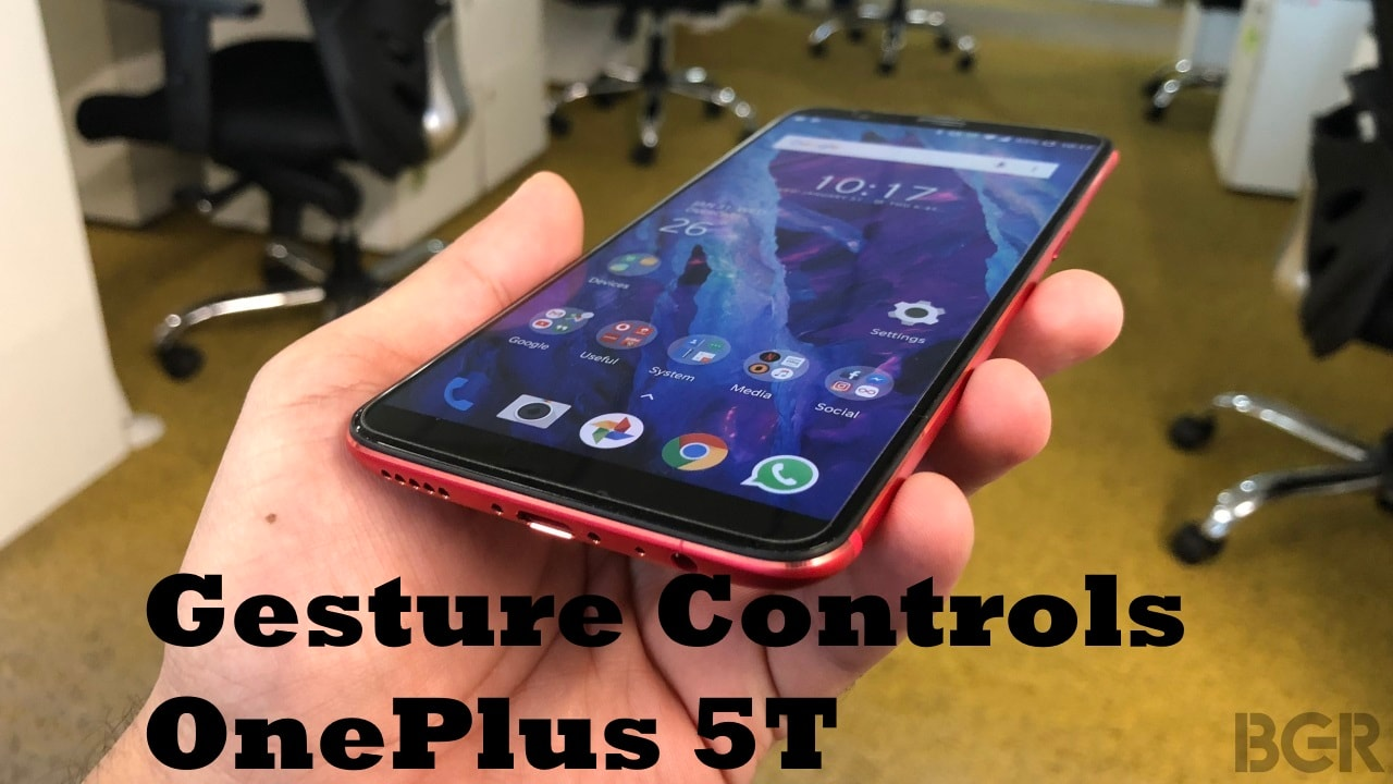 How to use apple iphone x like gesture controls on the oneplus 5t how to use apple iphone x like gesture controls on the oneplus 5t features tech videos bgr india baditri Choice Image