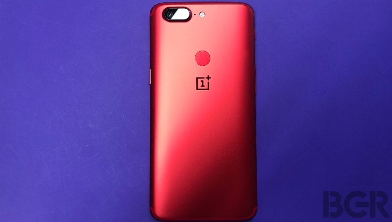 Oneplus 5t lava red main gallery