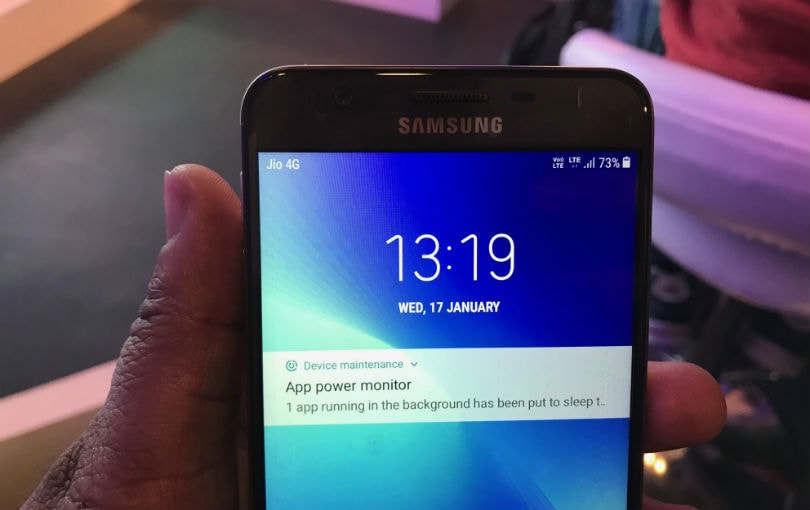 samsung Galaxy on7 prime display