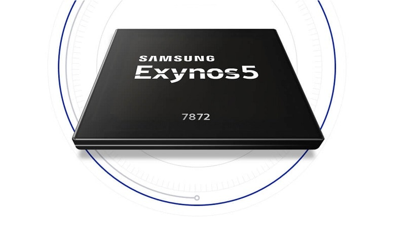 Samsung Exynos 5-Series 7872 chipset with hexa-core CPU, iris scanner support launched
