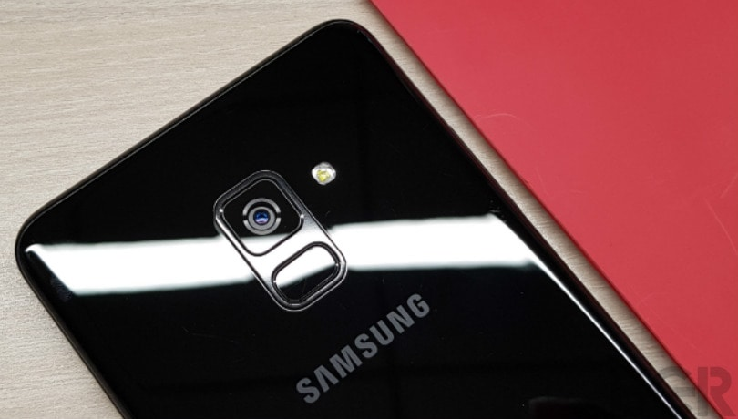 samsung galaxy A8 plus review rear camera