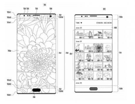 Samsung patent works on getting rid of the notch
