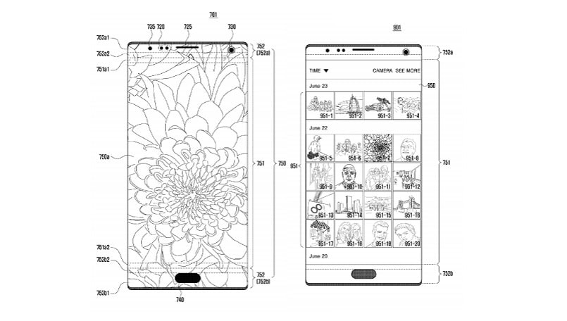 Future Samsung smartphones could feature selfie camera under the display, patent suggests