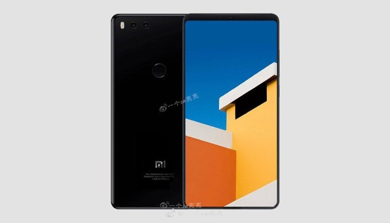 Xiaomi Mi 7 leaked render hints at a Mi MIX 2-like bezel-less design