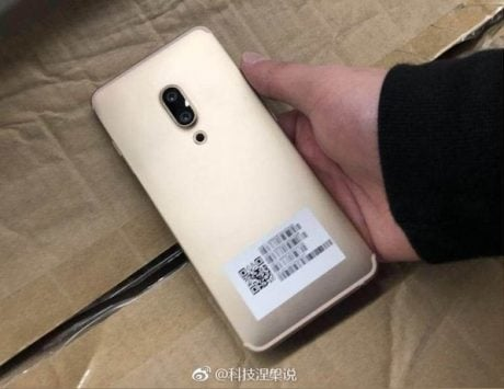 Xiaomi Mi MIX 2s rear cameras leaked in new images