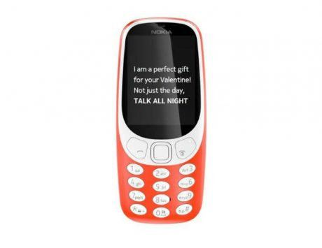 Valentine's Day 2018: Nokia 3310 in warm red color is ideal to disconnect yourself