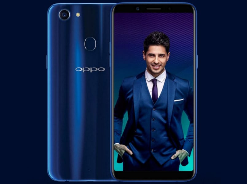Oppo F5 Sidharth Limited Edition goes on sale on Amazon with up to Rs 15,651 on exchange