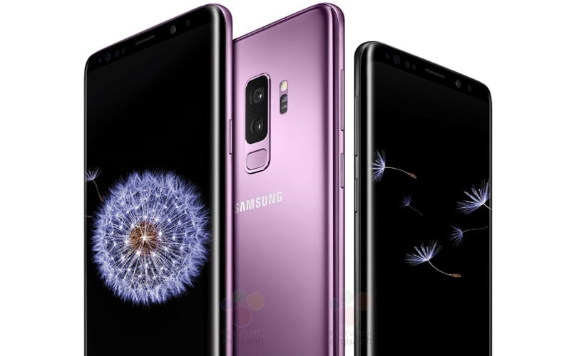 Samsung Galaxy S9, Galaxy S9+ leaked official images leave very little to the imagination