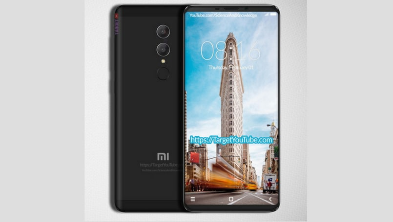 Xiaomi Redmi Note 5 renders hint at 18:9 display, dual cameras
