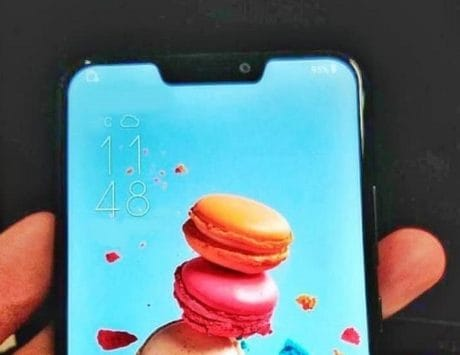 Asus Zenfone 5 with iPhone X-like notch leaked once again