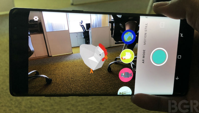 google motion stills ar
