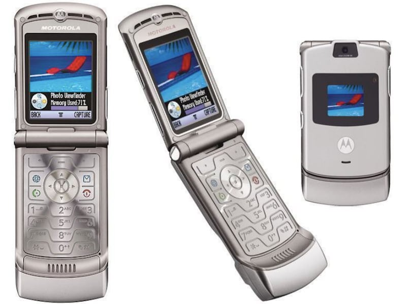Moto Razr maybe coming back