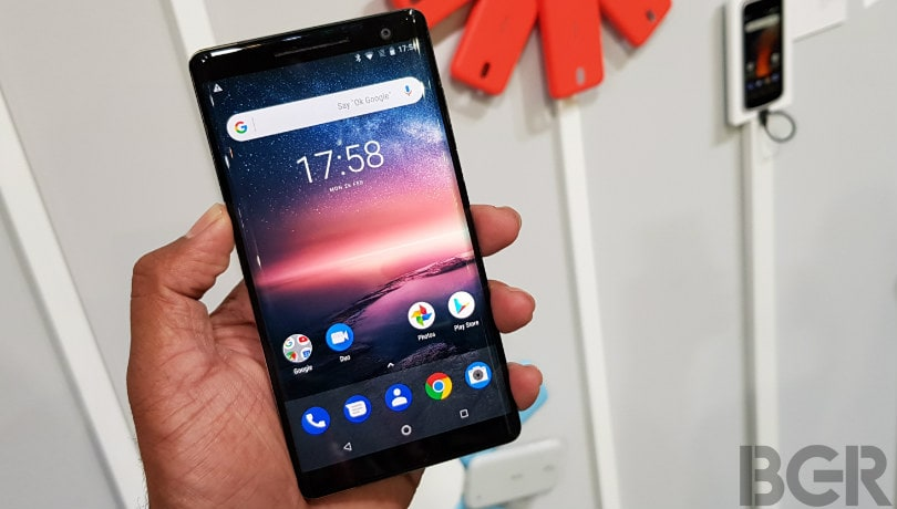 Nokia 8 Sirocco, Nokia 2 smartphones get May security update: Report
