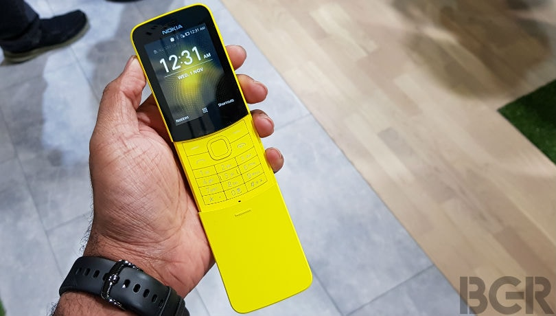 Nokia 8110 4G first impressions: The smart feature phone with 'a dose of nostalgia'
