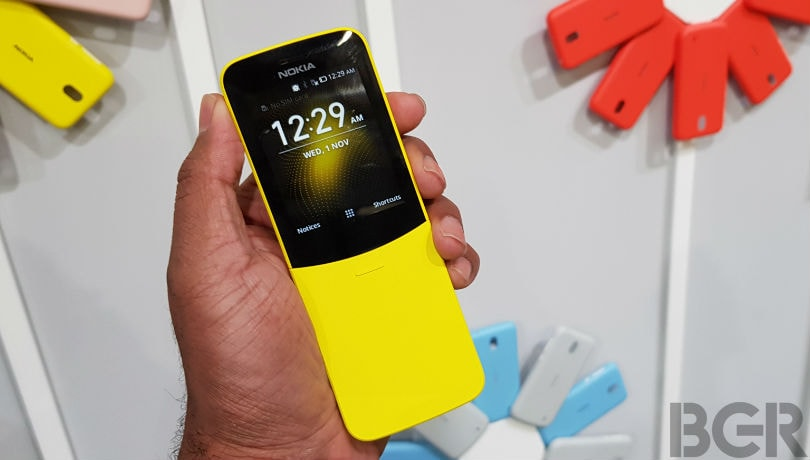 Nokia 8110 4G update with KaiOS 2.5.2 version rolling out