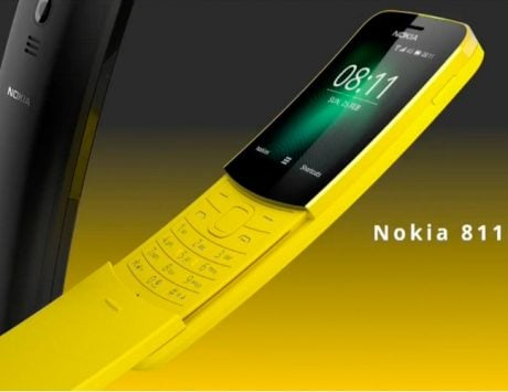 Nokia 8110 'Matrix' slider phone with 4G, rear camera launched at MWC 2018
