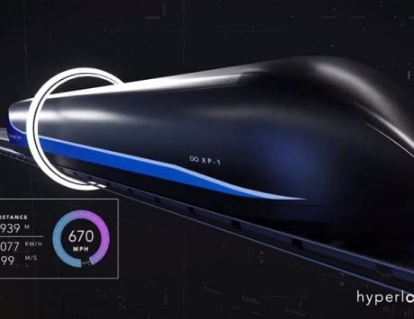 Virgin Hyperloop One shows off its new futuristic travel pod