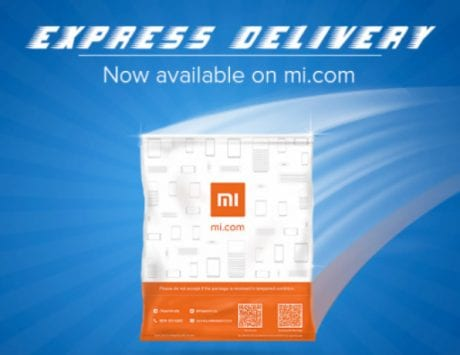 Xiaomi's Express Delivery service promise to deliver products in one-day