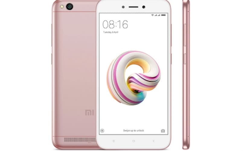 Xiaomi Redmi 5A Rose Gold edition launched in India at Rs 4,999; to go on sale at 12PM today