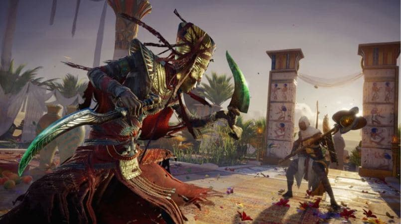 Assassin's Creed: Origins DLC The Curse of the Pharaohs releasing on March 13