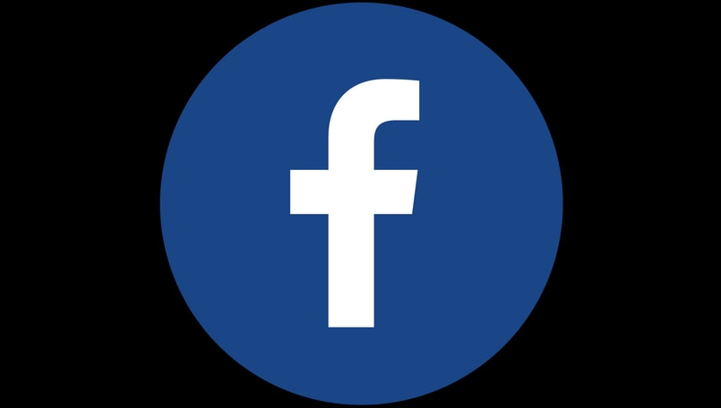 Facebook round logo- Canva
