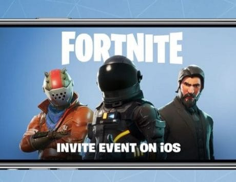 Fortnite mobile is live and iOS invites being sent out