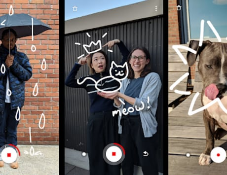 Google's new Just a Line app lets you doodle in AR
