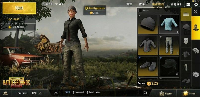 pubg how to change name pc