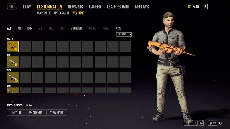 All Pubg Weapons Skins How To Get Them: PUBG Is Introducing Weapon Skins And Considering Region