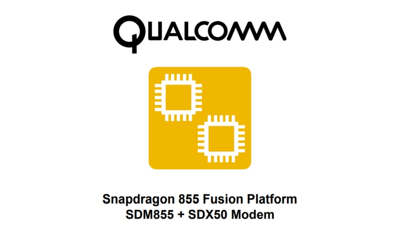 SoftBank confirms Qualcomm Snapdragon 855 Fusion Platform with 5G-capable modem