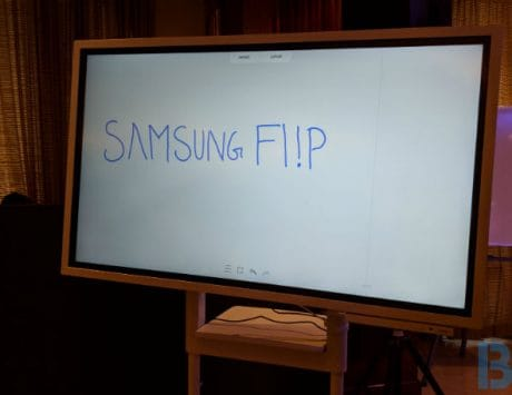 Samsung Flip digital display launched in India