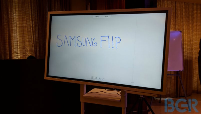 Samsung Flip is Surface Hub and Google Jamboard competitor aimed at your workplace