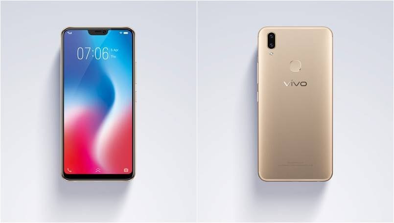 Vivo V9 launched with iPhone X-style notch and dual rear cameras: Price and specifications