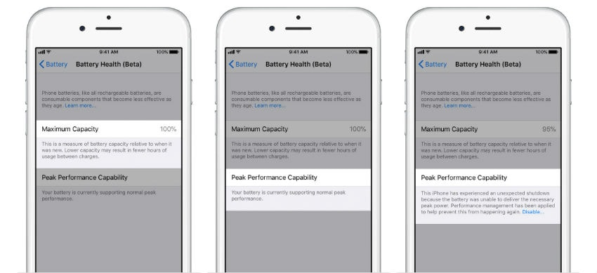 purchase cheap 54e54 fa4e2 iOS 11.3: How to check battery health and disable throttling | BGR India