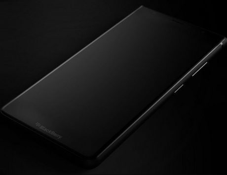 BlackBerry Ghost Pro leaked image hints at a bezel-less design