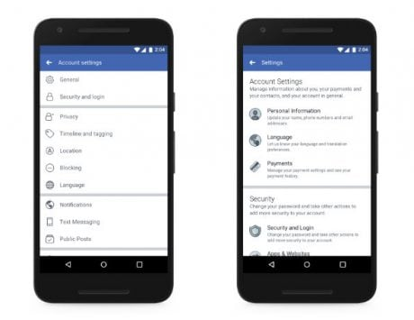 Facebook tweaks privacy settings to make it easier to find data it collects