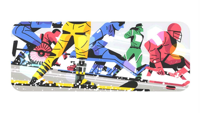 Google Doodle marks the starts of 2018 Winter Paralympics in South Korea