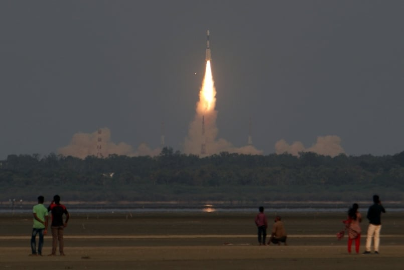 PM Lauds ISRO Efforts In Successful Launch Of GSAT-6A Satellite